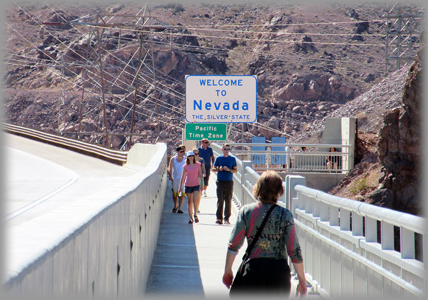 The Hoover Dam adventure - June 2014