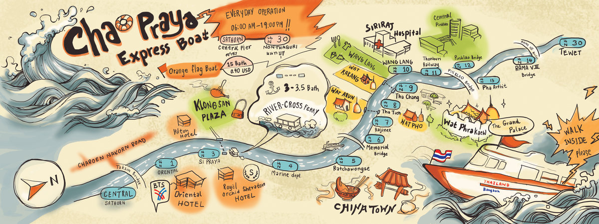 Bangkok Tourist Attraction Review Chao Phraya Express Boat
