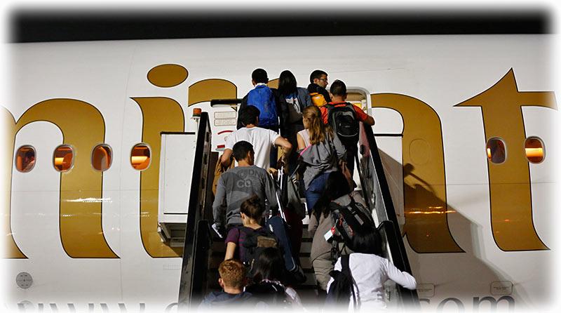 sprechen stewardessen emirates deutsch
